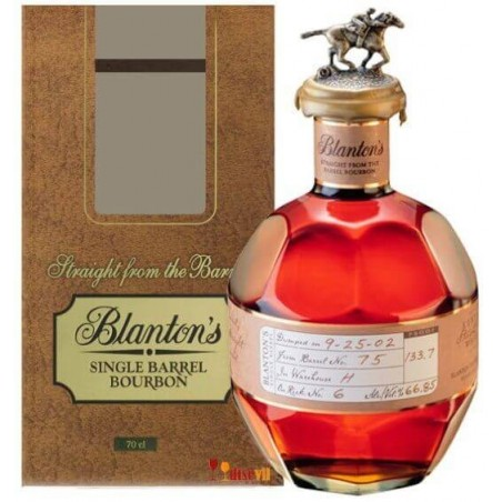 BOURBON BLANTON'S STRAIGHT FROM THE BARREL