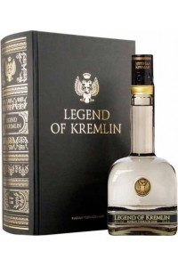 ESTUCHE VODKA LEGEND OF KREMLIN
